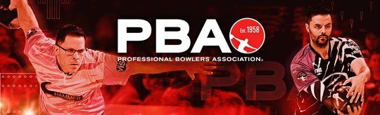 PBA Membership Logo with two players mid swing