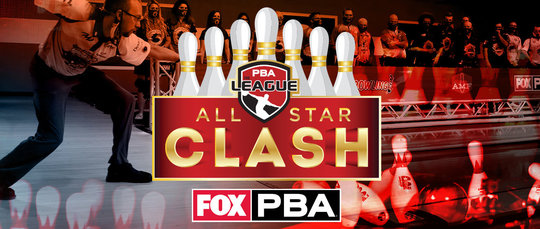 PBA All Star Clash Logo with the FOX and PBA logo side by side